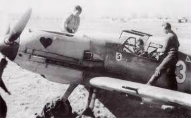 Ernst-Laube-Bf109E-7-Sicile-1941-JG-26