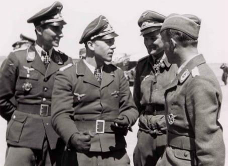 Hrabak-other-Luftwaffe-ace.-Werner-Lucas-Dietrich-Hrabak-Kurt-Brandle-Wolfgang-Ewald
